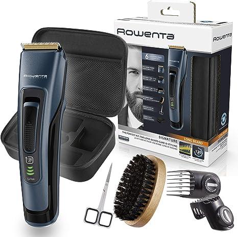 Rowenta Kit cuidado barba Signature TN4500, Cortapelos y barbero ...