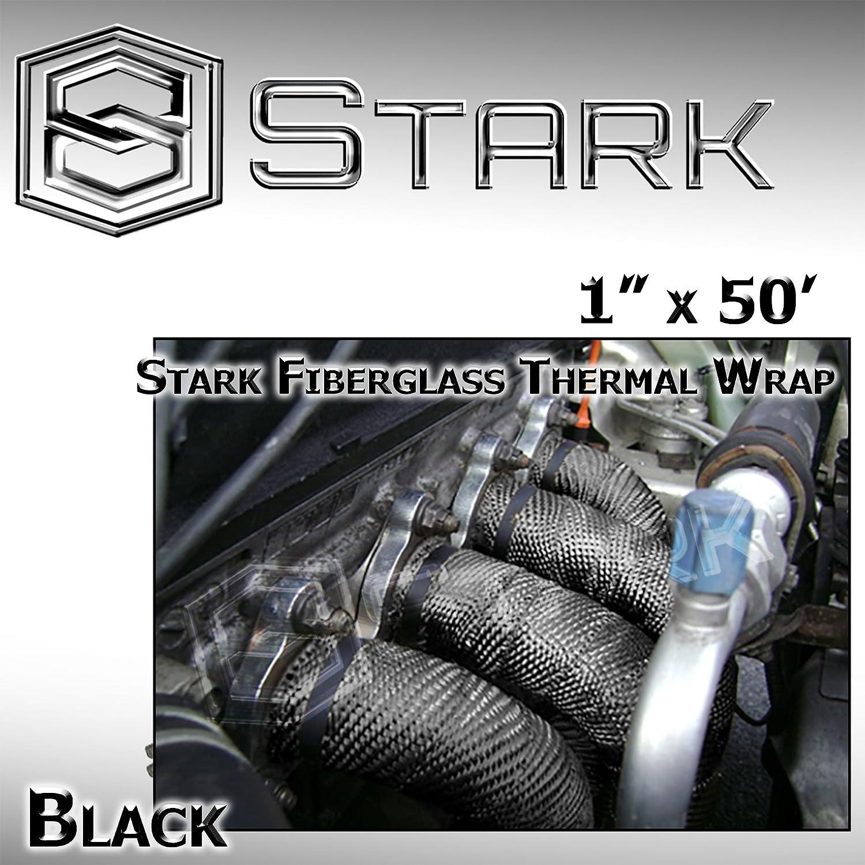 """6/"""" X 50/' Fiberglass Exhaust//Header Wrap Blue"""