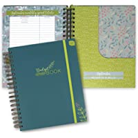 "Boxclever Press Budget Planner - Check Out The Video! Measures 9.5"" x 8"". Start Using Any time. Monthly Income and Home Expenditure Tracker, Regular Bill Organizer, 13 Pockets for Receipts and Bills."