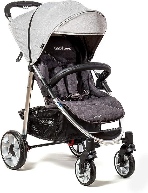 Opinión sobre Bebé Due - Silla de Paseo, Unisex, Light Grey
