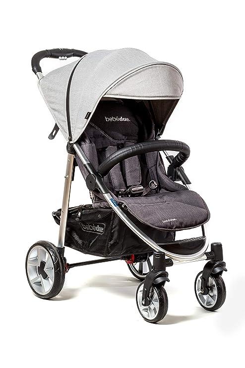 Bebé Due - Silla de Paseo, Unisex, Light Grey: Amazon.es: Bebé