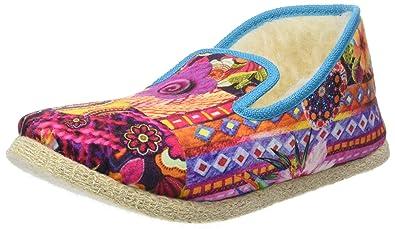 sports shoes a53cf 11da9 Rondinaud Women's CRAU Low-Top Slippers, (Multicolore), 3.5 ...