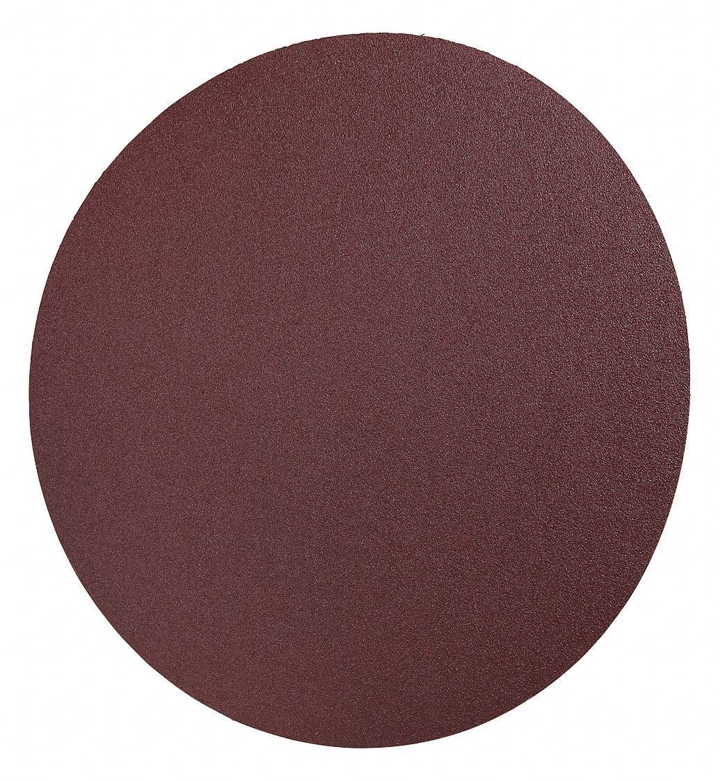 3M 12'' Coated PSA Sanding Disc, 40 Grit, Non-Vacuum, Coarse Grade, Aluminum Oxide 10, PK - pkg. of 10 by CAI - 3M (Image #1)