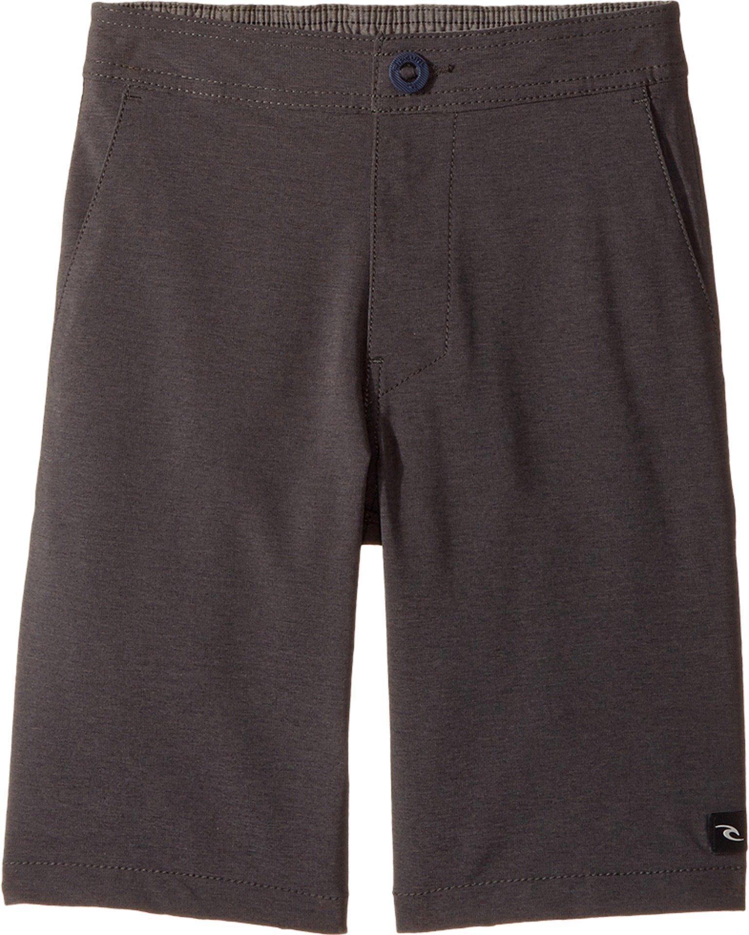 Rip Curl Kids Boy's Omaha Walkshorts (Big Kids) Black Medium