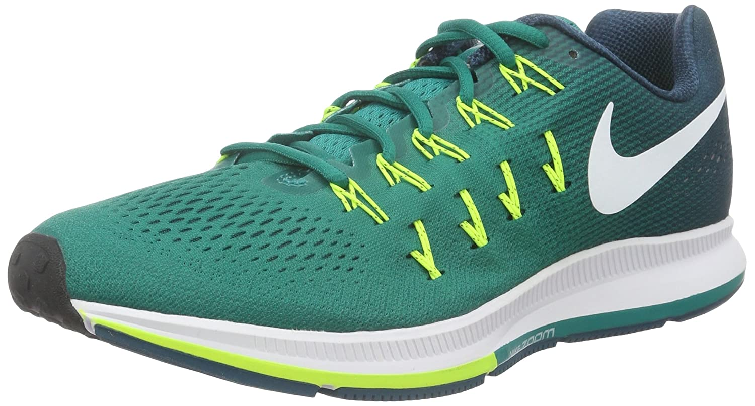 Nike Men's Air Zoom Pegasus 33 B019DNPY46 11.5 D(M) US|Rio Teal/White-midnight Turq-volt