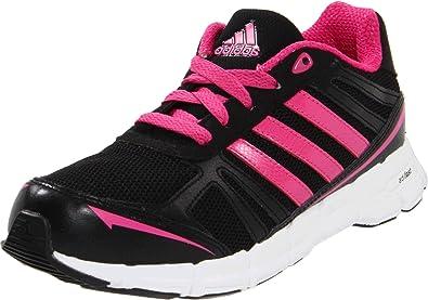 Amazon.com   adidas adiFast Running Shoe, Black/Pink, 7 M US Big ...