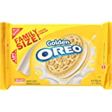Oreo Golden Sandwich Cookies - Family Size, 19.1 Ounce