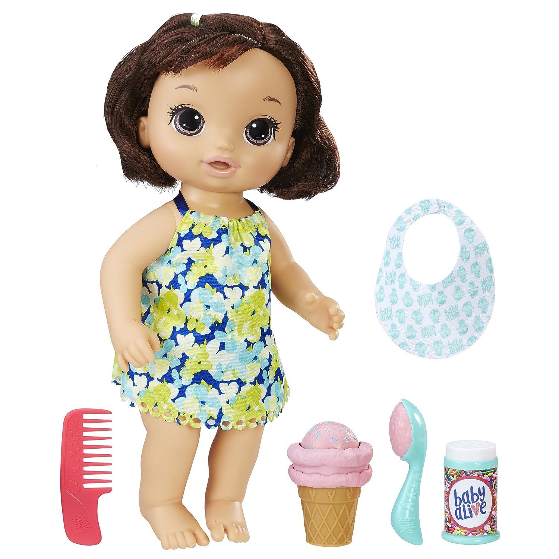 Magical Scoops Baby Brunette Hasbro C1089