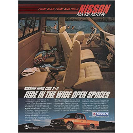 Amazon Com 1985 Nissan King Cab Ride In The Wide Open Spaces