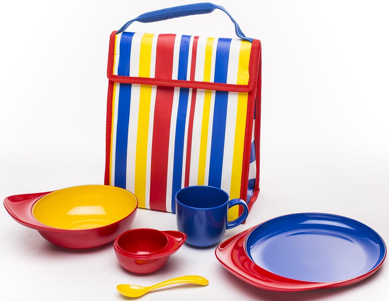 人気激安 Zak Designs Bobo B00CPM1MQC Bright 6-Piece Children's Bright Mealtime Set by Designs Zak Designs BoBo Bright B00CPM1MQC, サークルストア:b57d0d63 --- a0267596.xsph.ru