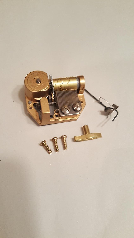 芸能人愛用 Reuge 18 Note Note Musical Mechanical Mechanical 18 movement-