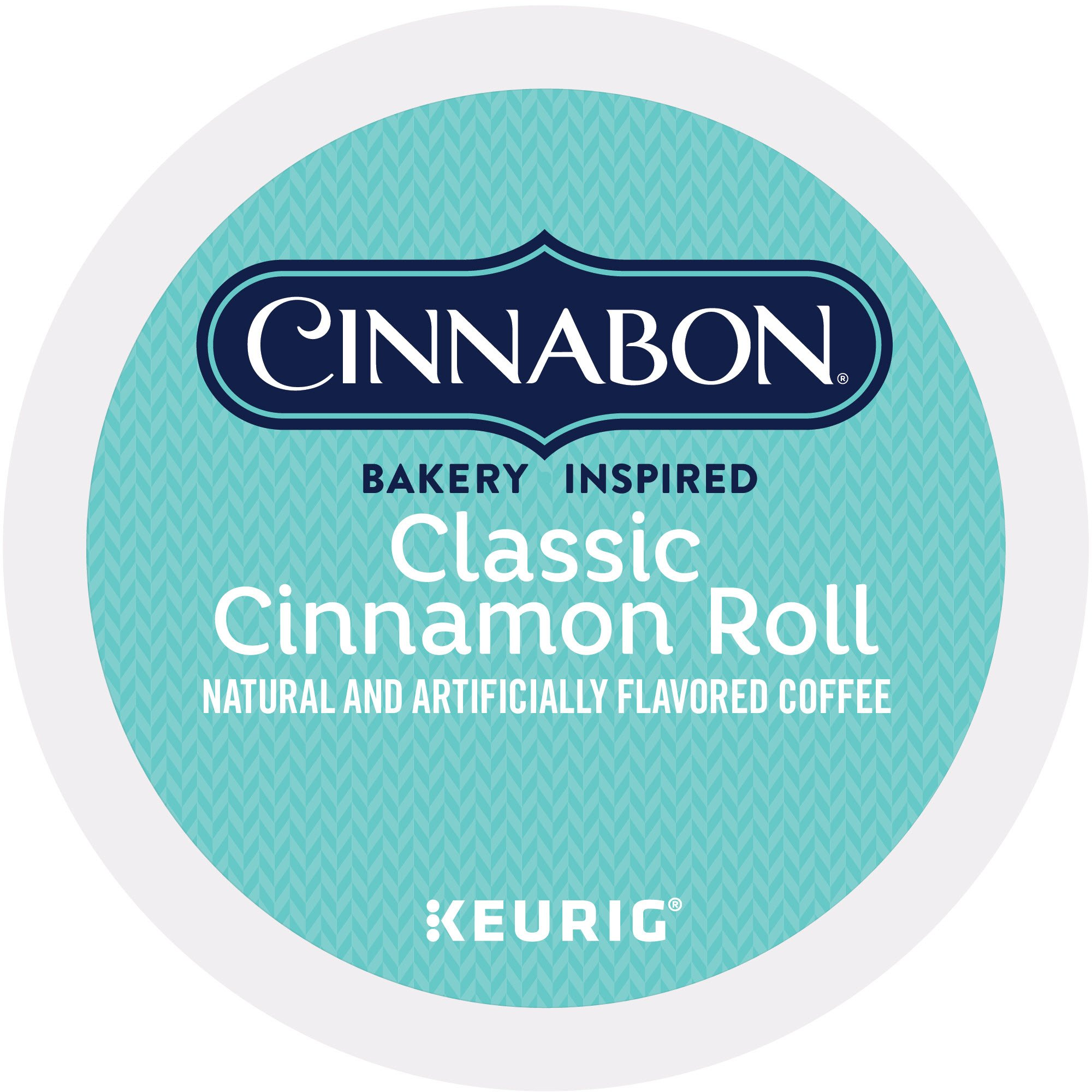 Cinnnabon Classic Cinnamon Roll, Single Serve Coffee K-Cup Pod, Flavored Coffee, 24