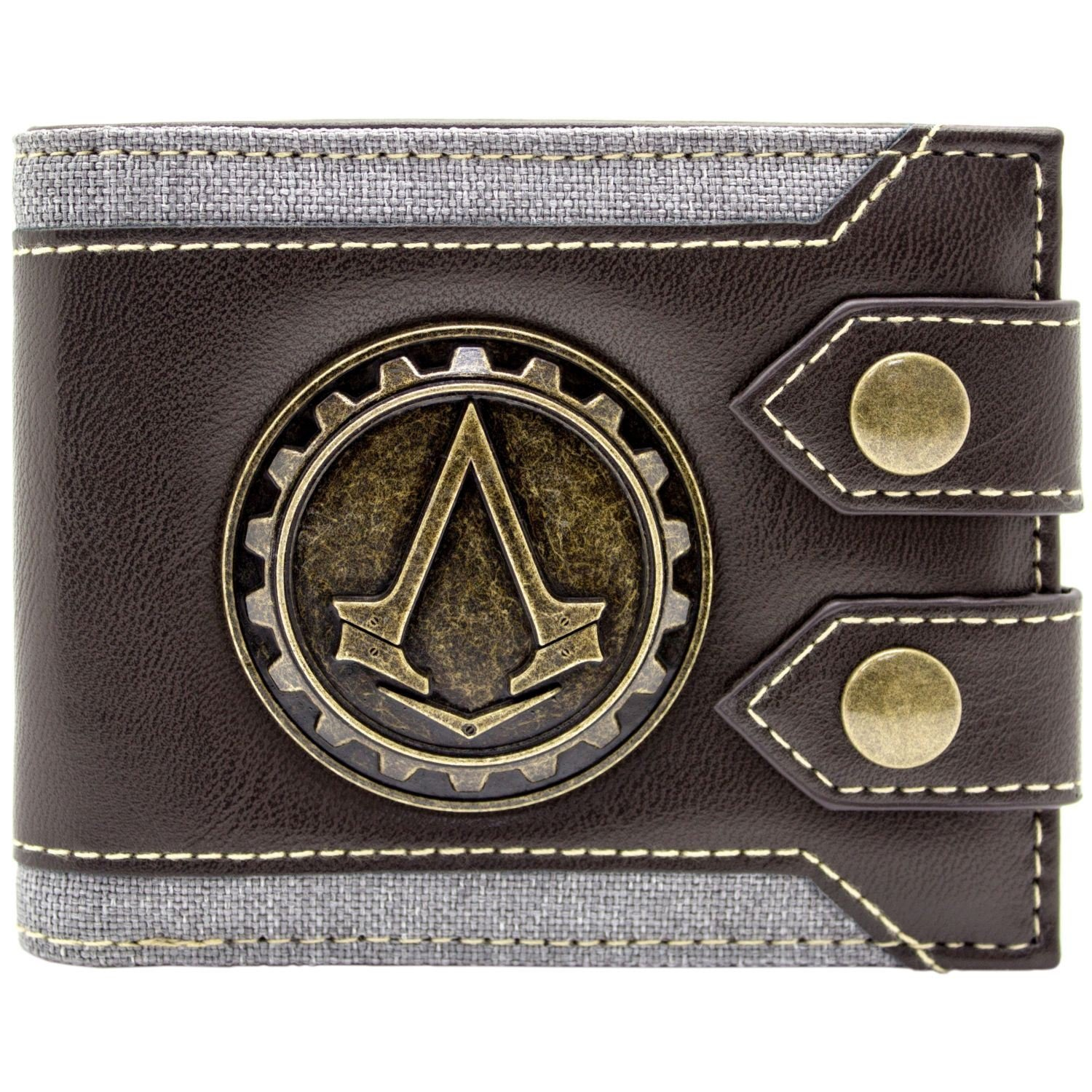Cartera de Ubisoft Assassins Creed Syndicate Jacob Logo marrón 27922