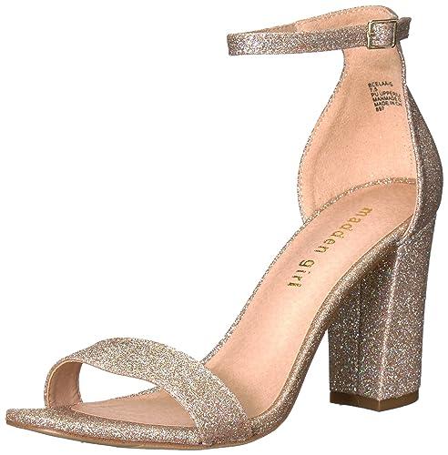 8fe327de3213 Madden Girl Women s BEELLA-G Heeled Sandal  Buy Online at Low Prices ...