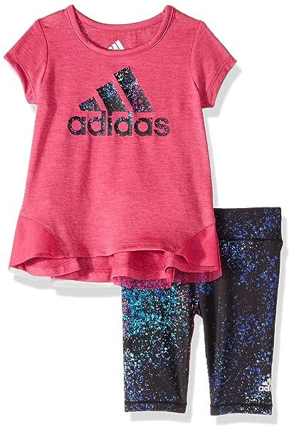 Amazon.com: adidas Capri - Mallas para bebé: Clothing