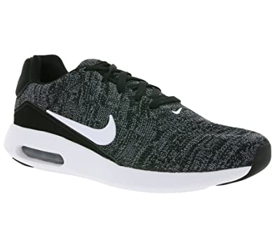 the best attitude 1d105 c0b1a Nike Men's Air Max Modern Flyknit, Black/White-Cool Grey-University RED,  7.5 M US