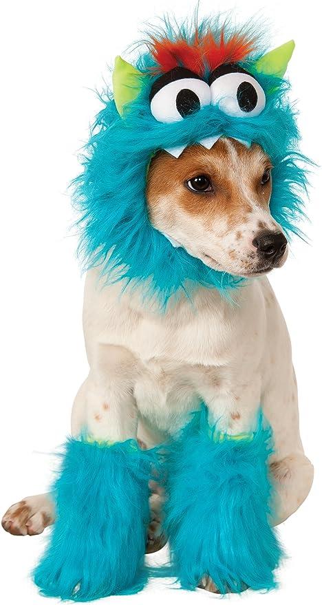 Disfraz para mascota - Monstruo de las galletas azul, perro talla ...