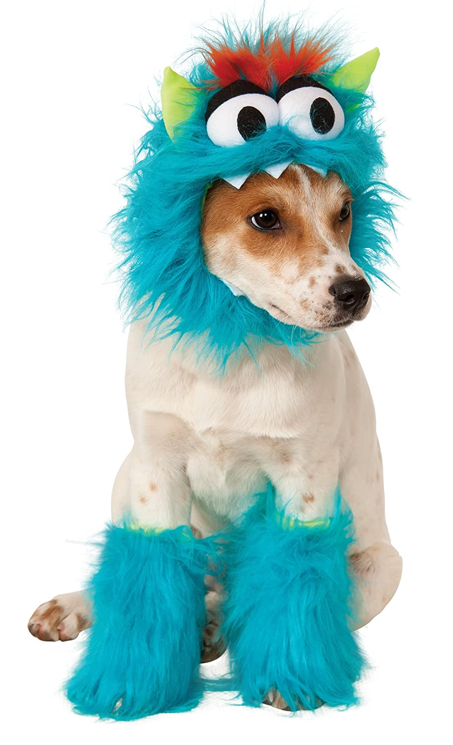 Amazon.com : Fluffy, friendly pet monster costume includes furry ...