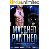 Matched To His Panther: An M/M Mpreg Shifter Dating App Romance (The Dates of Our Lives Book 3) book cover