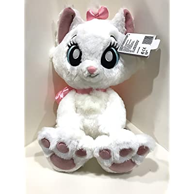 Disney Parks Marie the Cat Kitten Big Feet Eyes Plush Doll Aristocats: Toys & Games
