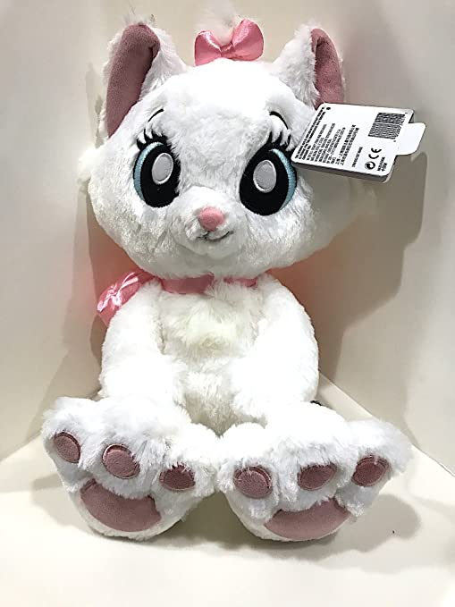 Disney Parks Marie the Cat Kitten Big Feet Eyes Plush Doll Aristocats