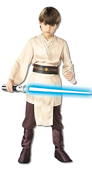 Rubies Star Wars - Disfraz infantil de caballero Jedi (talla S| 3-4 años)