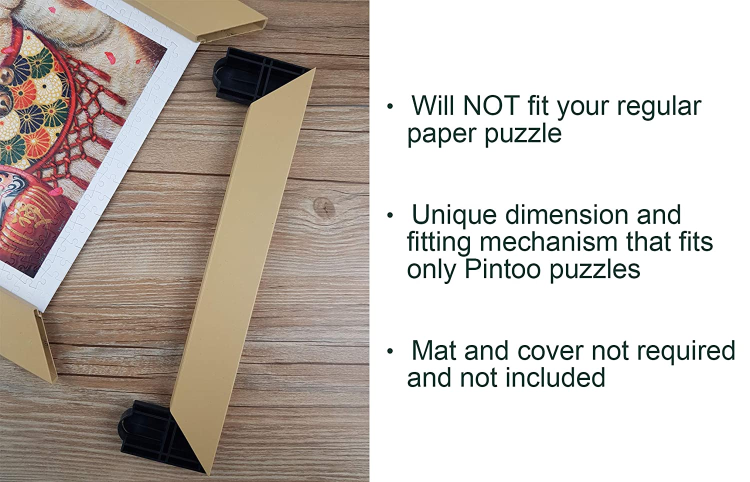 for Showpiece 500 Showpiece Frame Pintoo Will NOT fit Regular Paper Puzzle W1028 Cool Gray