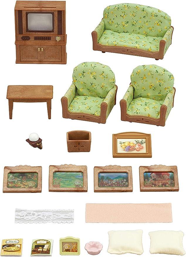 Amazon.es: Sylvanian Families - 5287 - Set Salón y TV: Juguetes y juegos