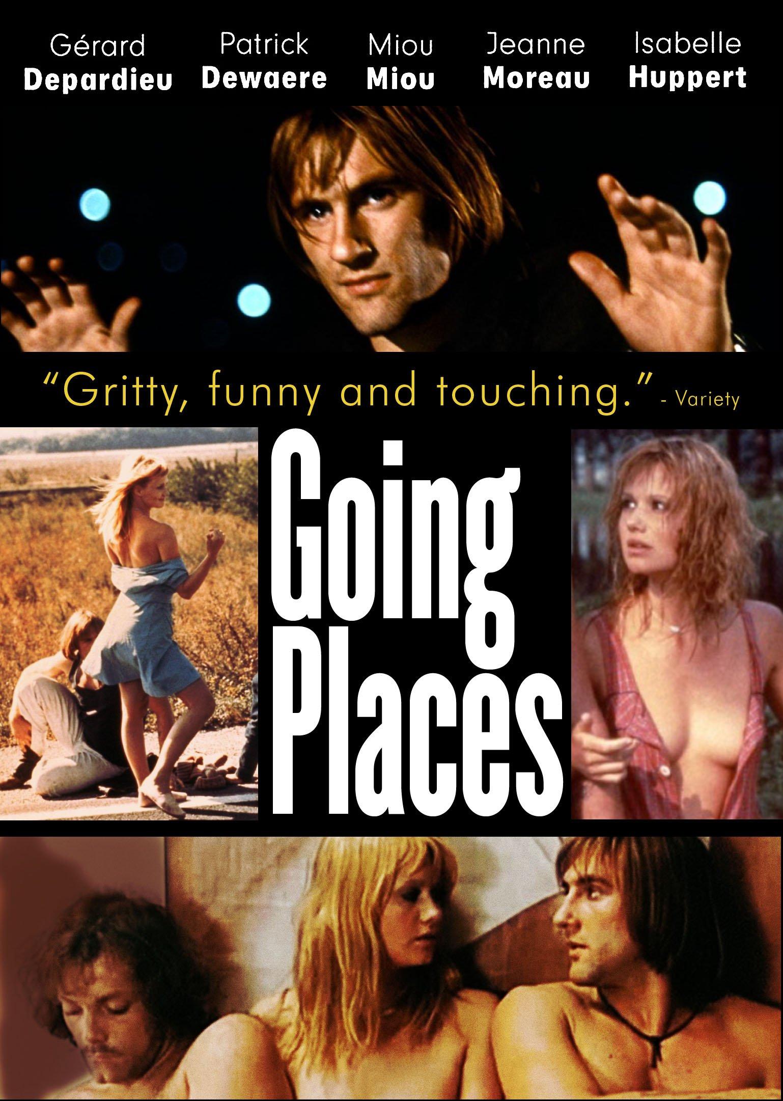 DVD : Gérard Depardieu - Going Places (Subtitled)