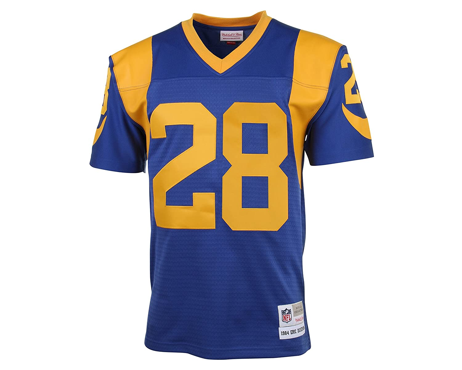 ... Amazon.com Mitchell Ness Marshall Faulk 1999 Replica Jersey St. Louis  Rams Sports Outdoors ... 0972f6013
