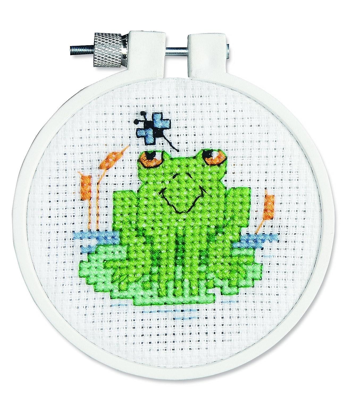 Janlynn Froggy molliccia Mini contato Punto Croce Kit-3Turno 11 Conte