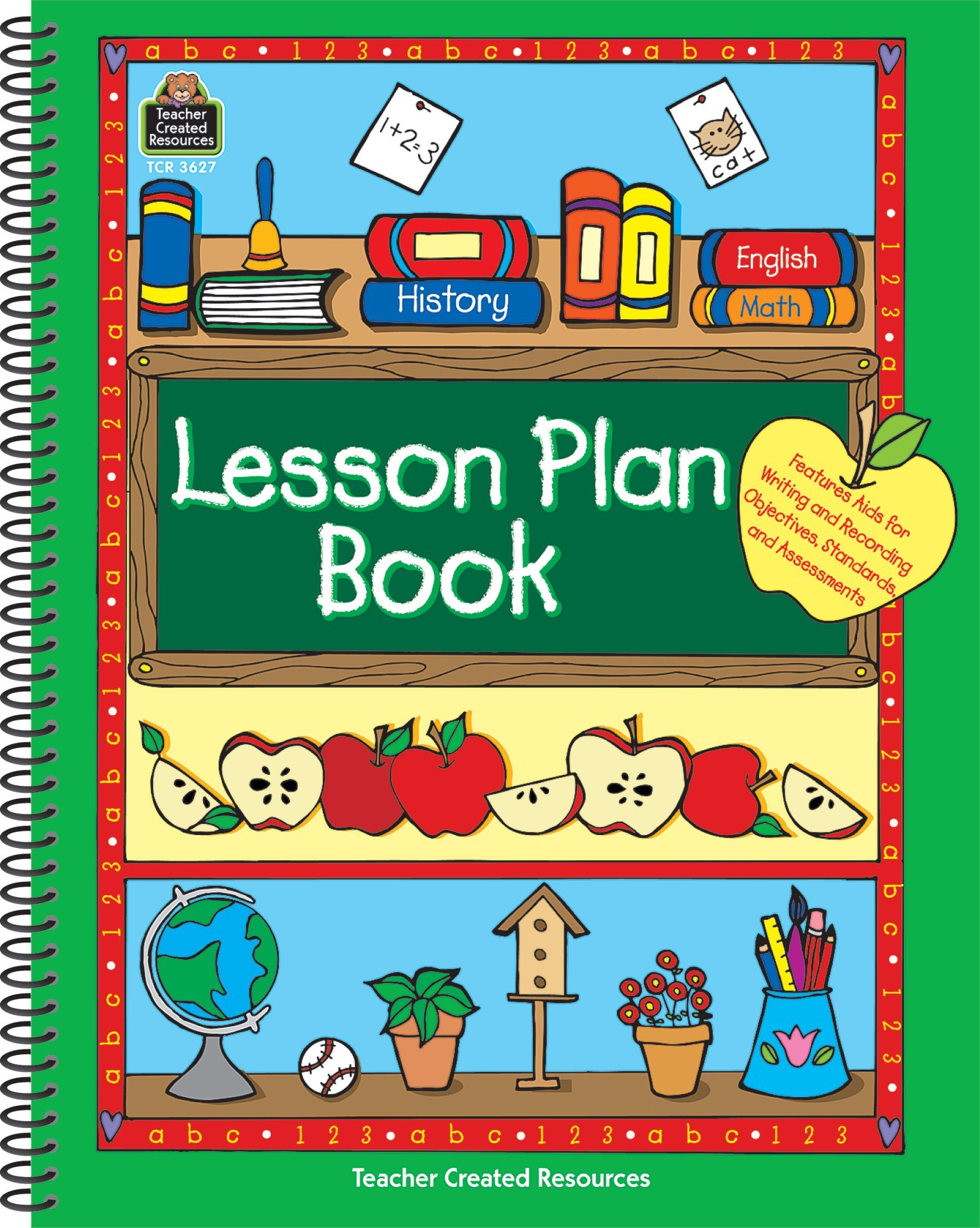 Lesson Plan Book Spiral-bound – Nov 4 2004 Gehrke Teacher Created Resources 0743936272 TCM3627