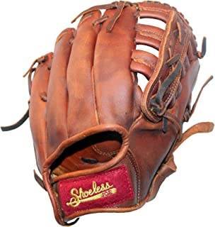 Shoeless Joe Child's First Baseball Glove, 100% Leather Classic Ball Glove (10', Right-Hand Throw)