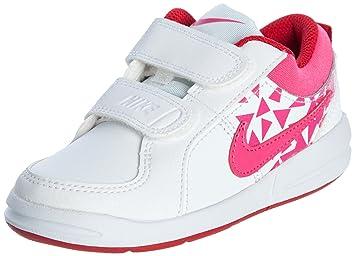 Nike Schuhe Kinder Mädchen Pico 4 (psv) White/vivid pink-gym red ...