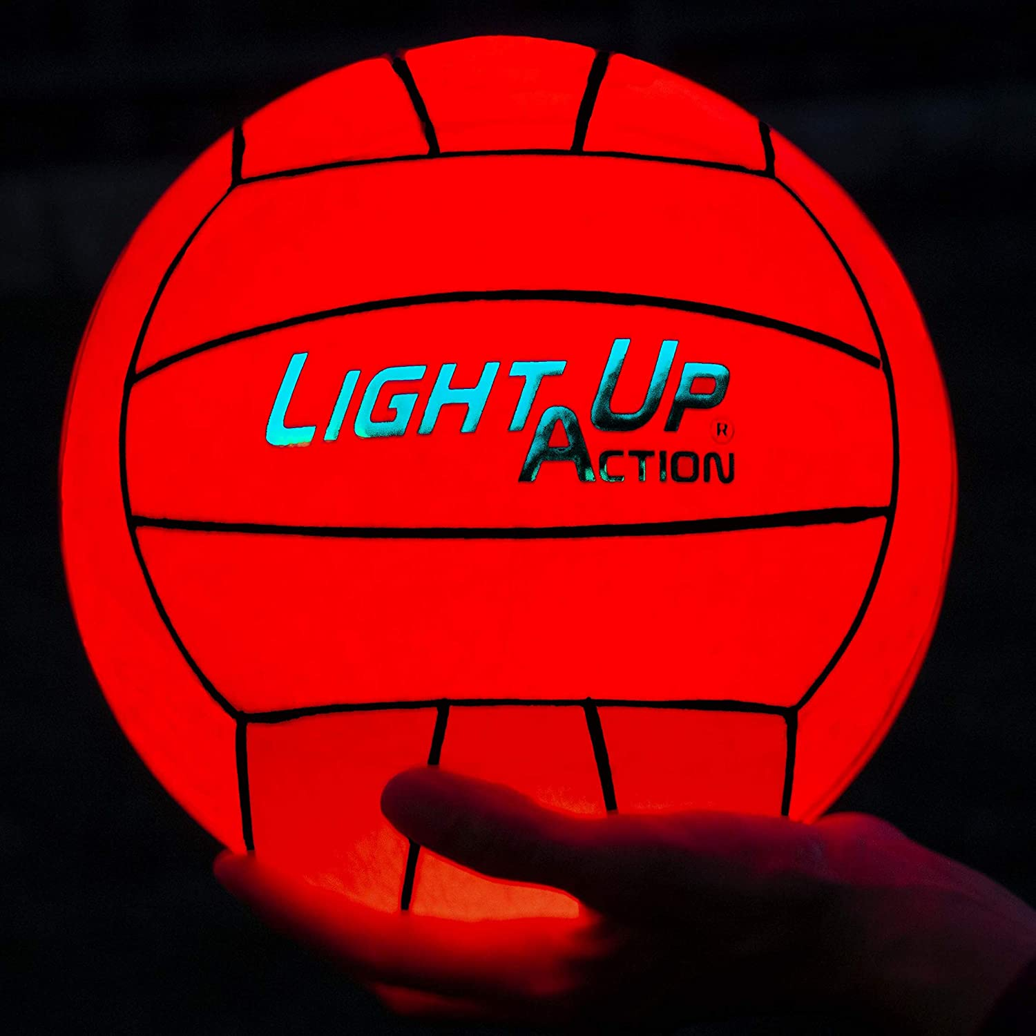 Light UpアクションデュアルLEDバレーボールVolleyball is brighter than any other 。 B07FWCNP8B