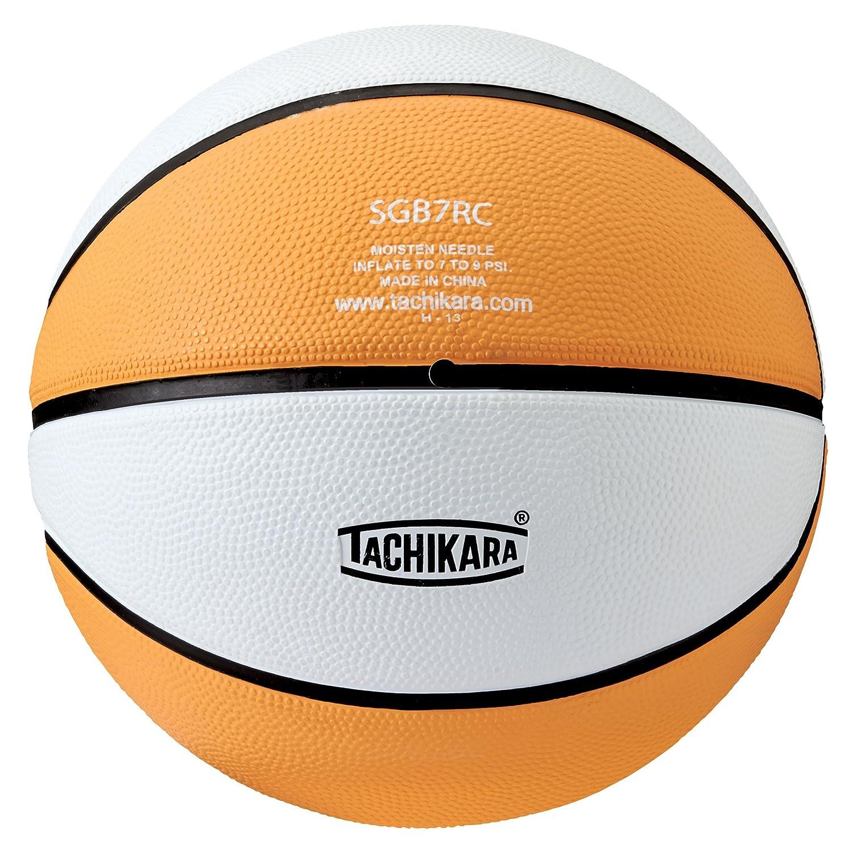 Tachikara Colored規定サイズバスケットボール B0013F32UG Gold-White