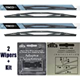 "2 Wiper Set - Trico 67-261 26"" HD Wiper Blades + B98999-146 Adapter Kit Fit Select RV Motorhomes - If Vehicle Not In Amazon Garage Verify Fitment at www.TricoProducts.com Before Purchasing"