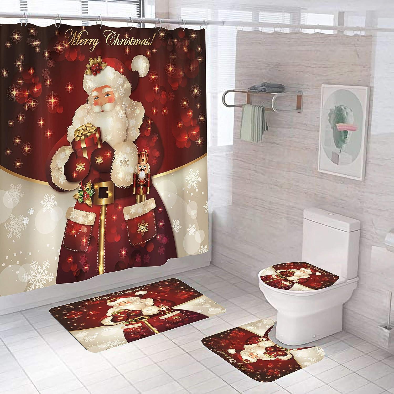 Christmas Bathroom Set