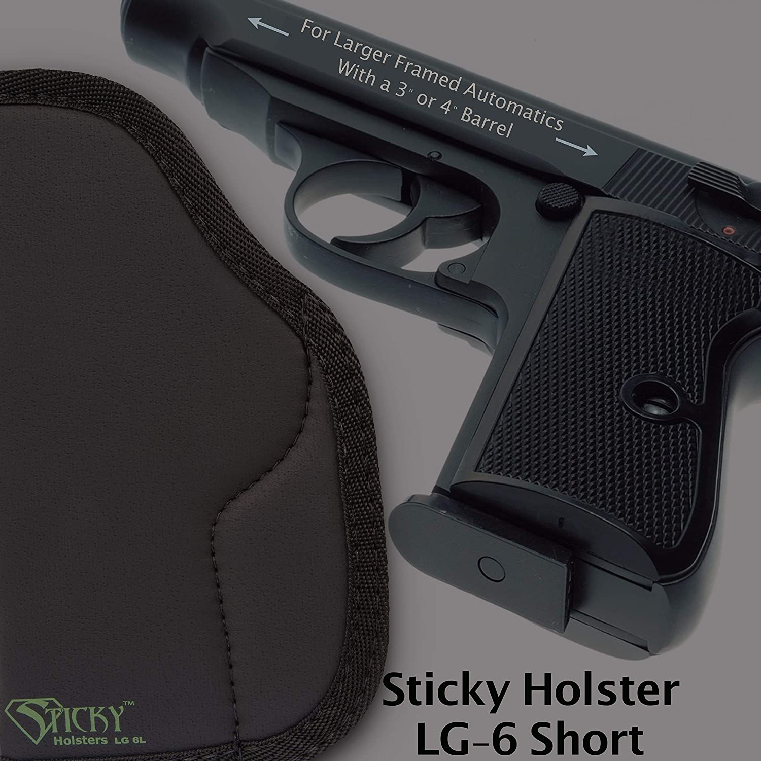 ONE NEW STICKY HOLSTER MD-4 GEN 1 FITS DOUBLE STACK SUB-COMPACT