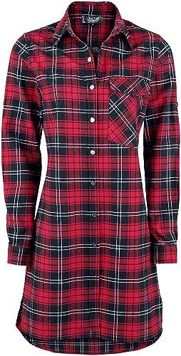 Rock Rebel by EMP Revenge Is Best Served Cold Camisa Mujer Rojo