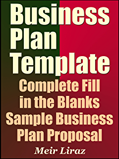 Amazon business plan template and example how to write a business plan template complete fill in the blanks sample business plan proposal with ms wajeb Choice Image