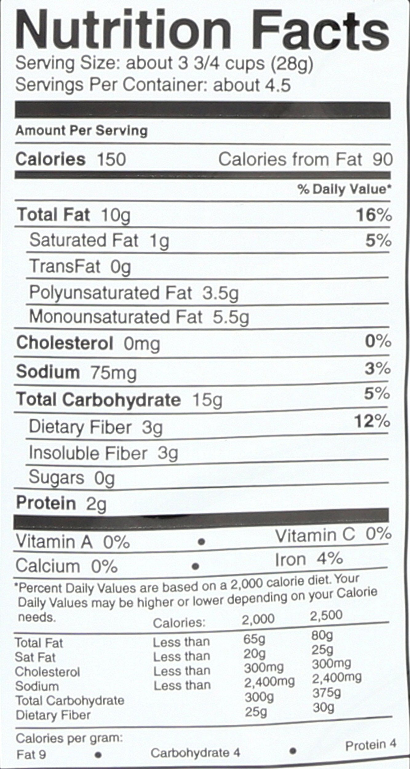 SKINNYPOP Original Popped Popcorn, Individual Bags, Gluten Free Popcorn, Non-GMO, No Artificial Ingredients, A Delicious Source of Fiber, 4.4 Ounce (Pack of 12) by SkinnyPop (Image #4)