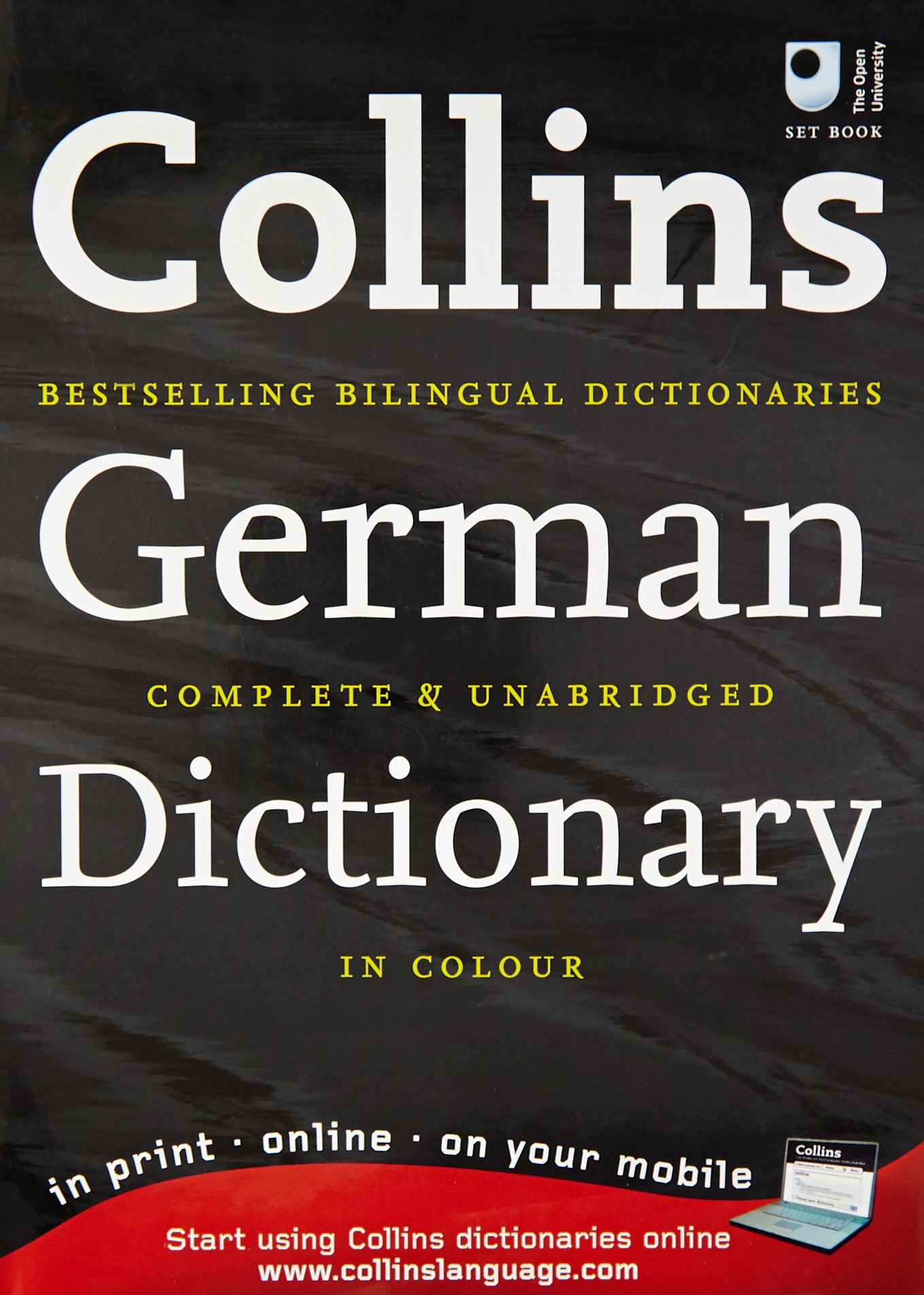 Collins German Dictionary: Complete & Unabridged in Colour (Collins Complete and Unabridged)