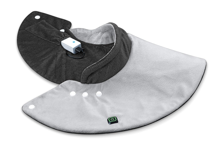 Beurer HK 57 - Almohadilla electrónica, batería externa, tamaño 52 x 42 cm, color gris: Amazon.es: Salud y cuidado personal