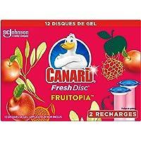 Duard WC Fresh Disc navulverpakking reinigingsblok zonder kooi Fruitopia 2 navullingen