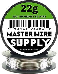 Nichrome 80 - 100' - 22 Gauge Resistance Wire