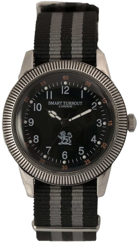 [スマートターンアウト]SMART TURNOUT 腕時計 3針 アンティーク仕上げ ST-002 NATO メンズ 【正規輸入品】 B00K1XGSUM