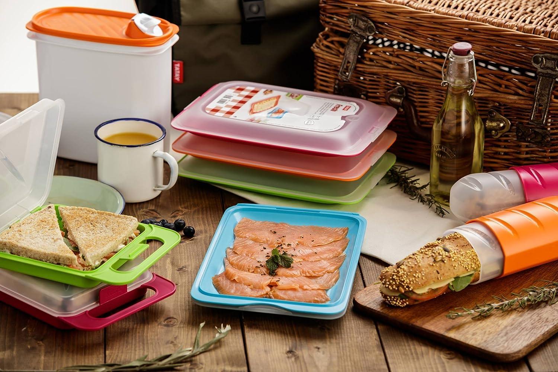 TATAY Lote 2 Porta Embutidos y Alimentos Fresh en Colores Verde y ...