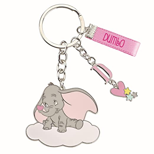 Formoso - Llavero de Metal Dumbo de Disney, Rosa esmaltada ...