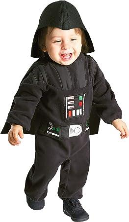 Oferta amazon: Star Wars - Disfraz de Darth Vader para niños, infantil 1-2 años (Rubie's  888260)